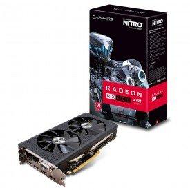 Placa de Vídeo Sapphire Radeon RX 480 4GB Nitro