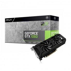 Placa de Vídeo PNY GeForce GTX 1060 6GB