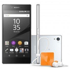 Kit Sony Xperia Z5 Premium Cromado Fone de Ouvido Sony SBH20