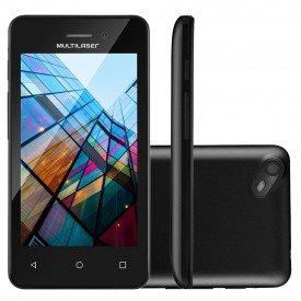 Smartphone Multilaser MS40S Preto