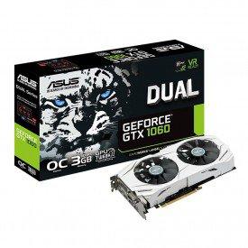 Placa de Vídeo ASUS GeForce GTX 1060 3GB DUALGTX1060O3G