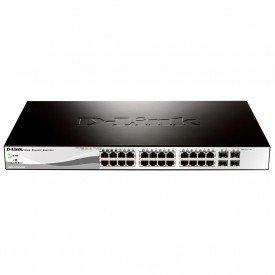 Switch Gerenciável D-link DES121028