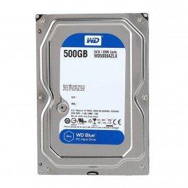 HD Interno Blue 500gb WD5000AZLX Frente