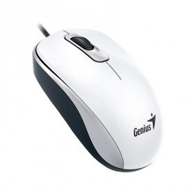 Mouse Genius USB DX110 Branco 1000dpi