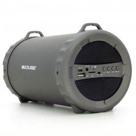 Lateral Caixa de Som Multilaser Bazooka 20W