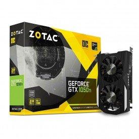 Placa de Vídeo Zotac GeForce GTX 1050 TI OC 4GB