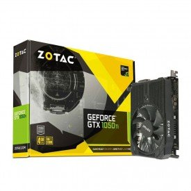 Placa de Vídeo Zotac GeForce GTX 1050 TI Mini 4GB