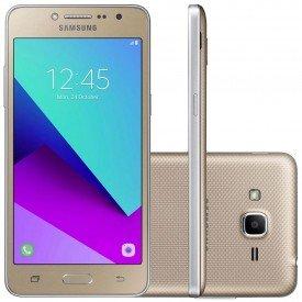 Smartphone Samsung Galaxy J2 Prime TV Dourado