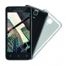 Smartphone Multilaser MS45R Preto