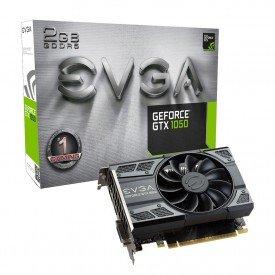 Placa de Vídeo EVGA GeForce GTX 1050 2GB