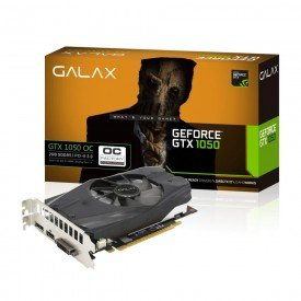 Placa de Vídeo Galax GeForce GTX 1050 2GB