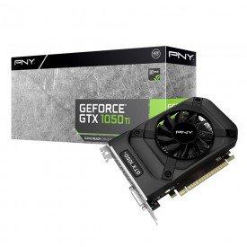 Placa de Vídeo PNY GeForce GTX 1050Ti 4GB