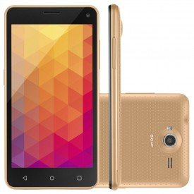Smartphone Multilaser MS50R Dourado