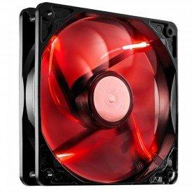 Fan Cooler Master SickleFlowX 120mm Vermelho