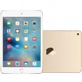 iPad Mini 4G 128GB Dourado