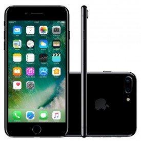 iPhone 7 Plus 256GB Preto Brilho