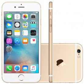 iPhone 6S Plus 128GB Dourado