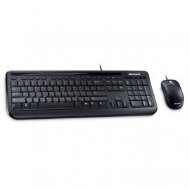Teclado Mouse Empresarial Desktop 400