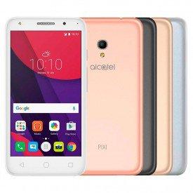 Smartphone Alcatel Pixi 4 5045J Metallic Branco Cinza