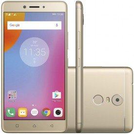 smartphone lenovo vibe k6 plus desbloqueado dourado