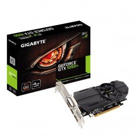 placa de video gigabyte gtx 1050 ti oc low profile 4gb gvn105toc4gl