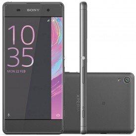 smartphone sony xperia xa dual f3116 desbloqueado preto principal