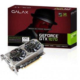 placa de video galax geforce gtx 1070 oc mini 8gb 70nsh6dvo5mn caixa