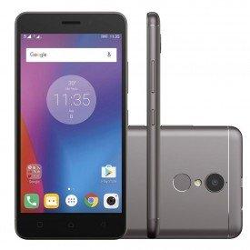 smartphone lenovo vibe k6 32gb 4g dual desbloqueado grafite principal