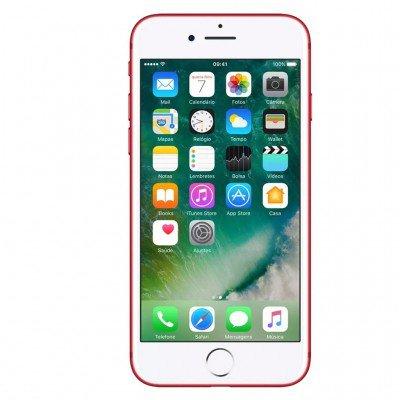 smartphone apple iphone 7 128gb desbloqueado red frontal