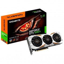 placa de video grafica gigabyte gtx 1080 ti oc 11gb gvn108tgamingoc11 caixa