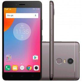 smartphone lenovo vibe k6 plus 32gb desbloqueado k53b36 grafite principal