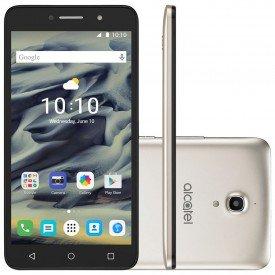 principal smartphone alcatel pixi 4 dual 6 ot8050e desbloqueado dourado