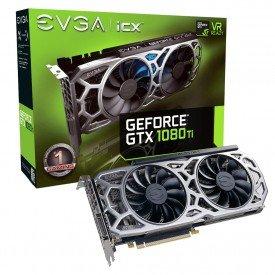 principal placa de video evga geforce gtx 1080 ti 11gb sc2 gaming 11gp46593kr