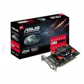 principal placa de video asus radeon rx 550 2gb gddr5 rx5502g