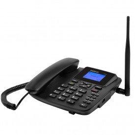 esquerda telefone celular de mesa intelbras single cf4201 desbloqueado preto