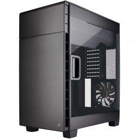 principal gabinete corsair carbide series clear 600c full tower cc 9011079 ww preto