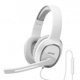 principal fone de ouvido headset gamer para pc edifier k815 branco