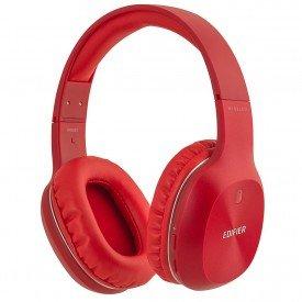 principal fone de ouvido headphone edifier hifi w800bt bluetooth vermelho