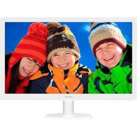 principal monitor philips 215 led full hd widescreen 223v5lhsw branco