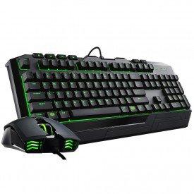 principal teclado mouse cooler master devastator ii sgb 3032 kkmf1 br verde