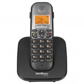 frontal telefone sem fio intelbras ts 5120 preto