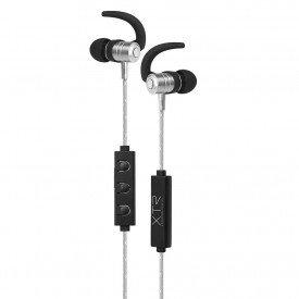 fone de ouvido bluetooth xtrax intra auricular prata