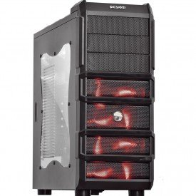 Frontal Gabinete Gamer PcYes Rhino Mid Tower