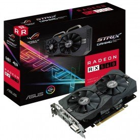 Caixa Placa de Vídeo Asus Radeon RX 560 OC Edition 4GB