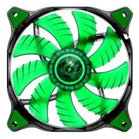 Fan Cooler Cougar CFD 140 CF-D14HB-G LED Verde