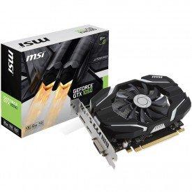 Caixa Placa de Vídeo MSI GeForce GTX 1050 2GB OC