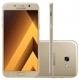 Samsung Galaxy A7 Duos 2017 A720F 64GB Dourado