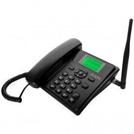 Telefone Celular de Mesa Elsys EPFS11 Preto