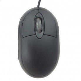 Mouse Óptico PCTOP USB MOPR01-USBV2 Preto