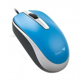 Mouse Óptico Genius Wired USB DX120 Azul